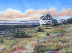 Jamie Wyeth House, Monhegan, Maine