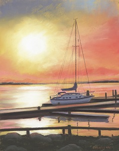 Sunset Jewel 11x14 Pastel Available