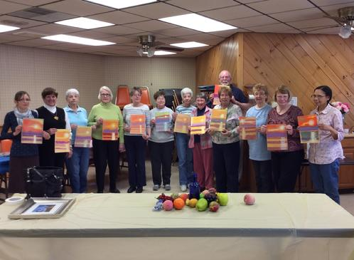 Methuen Senior Center Color Your World with Pastels! 2015