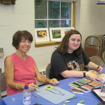 Groveland Library, Color Your World With Oils!  Micky Fraize Kneeland
