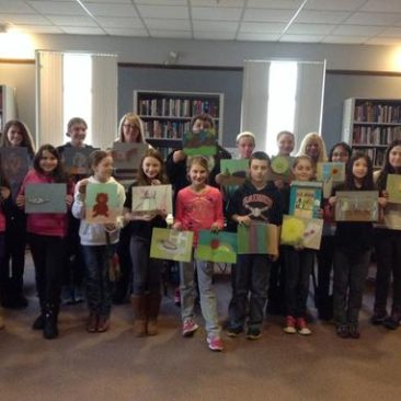 Saugus Library Color Your World With Pastels! 2014