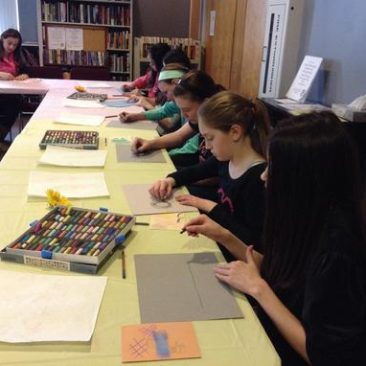 Saugus Library, Color Your World With Pastels!