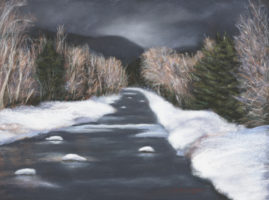After the Storm  11x14 pastel