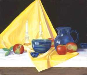 I Love Apples! 22x26 Pastel Available