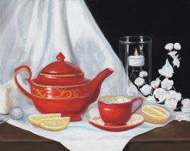High Tea 15x18 Pastel  Available