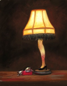 leg lamp, Christmas Story, Movie Theme Christmas, A Christmas Story