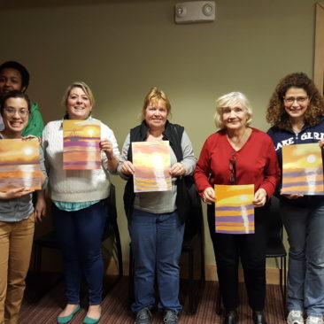Shute Library, Everett, MA  Color Your World With Pastels!  2.23.20177