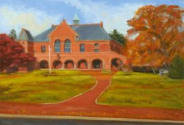 Nevins Memorial Library Sold- Commissioned by the Trustees of Nevins Library.  Oil on Linen