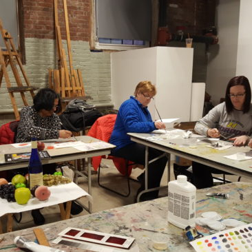 Essex Art Center Color Your World in Oils 2.4.17.2