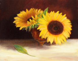 Kissed by the Sun  11x14 Oil on Linen -Collection Steve Normann