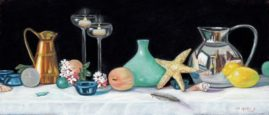 Summer Nights Collection Maura Gallant 10x20 Pastel
