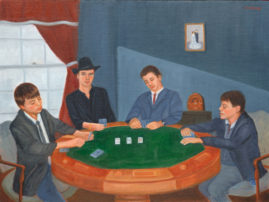 The Steele Boys - Collection of Kevin Steele 16 x 20 Oil on Linen
