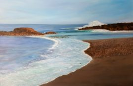 Ocean Breeze 24x36 Oil on Canvas.  Gallery wrap, no frame.